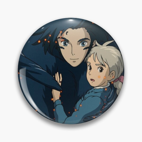 Howl's Moving Castle Pin