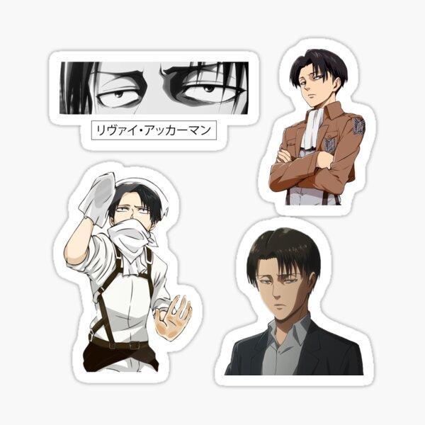 Levi AOT Bundle Stickers Sticker fini brillant