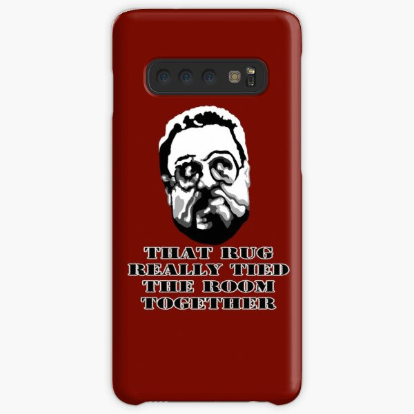 That Rug Really Tied The Room Together: Big Lebowski Movie Quote Samsung Galaxy Snap Case