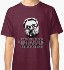 That Rug Really Tied The Room Together: Big Lebowski Movie Quote Classic T-Shirt