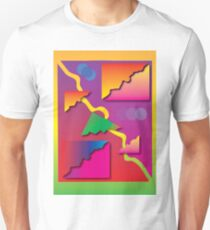 'Prisms' design by LUCILLE Unisex T-Shirt