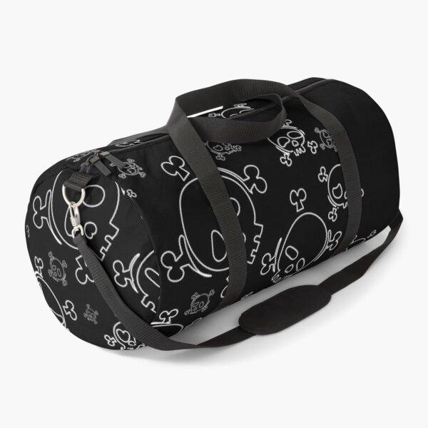 Skulls artwork simple design Duffle Bag