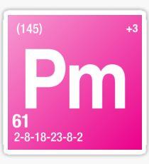 Element Promethium Sticker