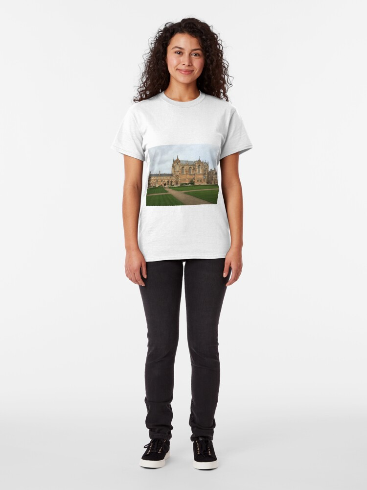 Alternate view of Keble College, Oxford Classic T-Shirt