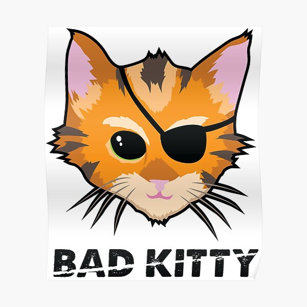 Bad Kitty Poster