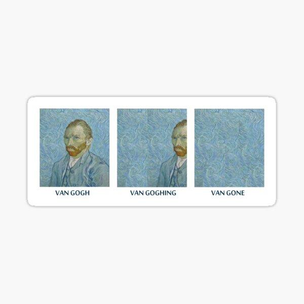 VAN GONE Sticker