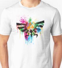 Hylian Paint Splatter Slim Fit T-Shirt