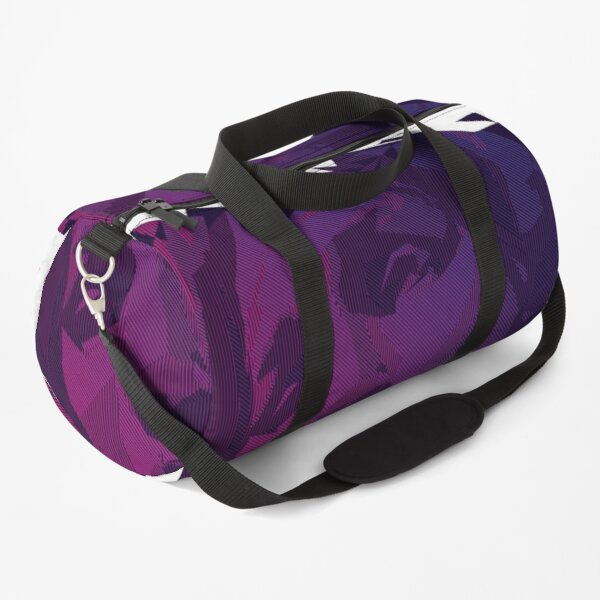 Dawn Scanline Portrait | Night Time Duffle Bag
