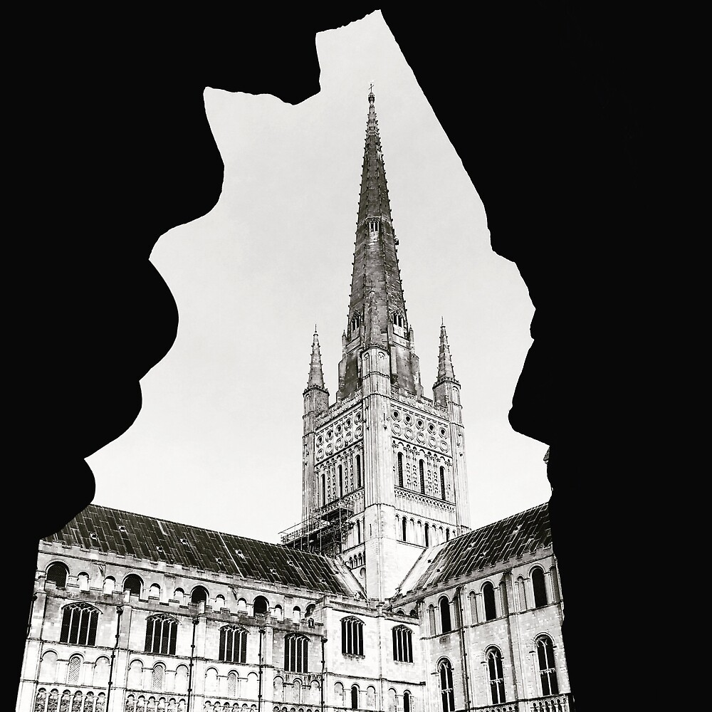 Norwich Cathedral by Robert Steadman