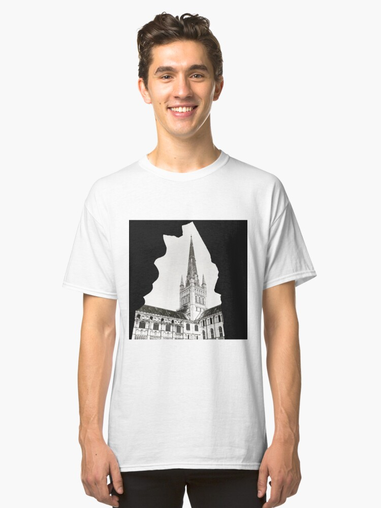 Alternate view of Norwich Cathedral Classic T-Shirt