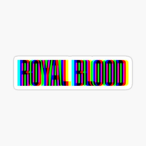 Royal Blood CMYK Logo  Sticker