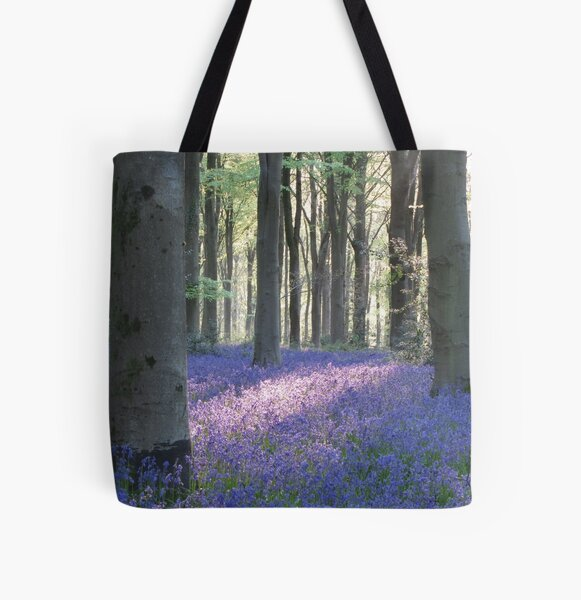 Bluebells All Over Print Tote Bag