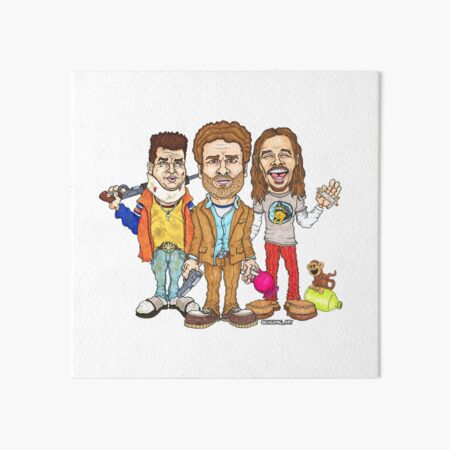 Pineapple Express Art Board Print