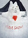 I Love Snow! by FrankieCat