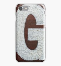 Vancouver Urban Alphabet - G iPhone Case/Skin