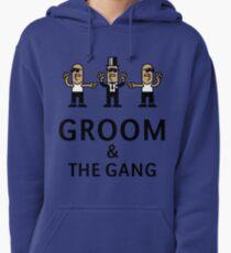 Groom & The Gang (Gangsta Stag Party) Pullover Hoodie