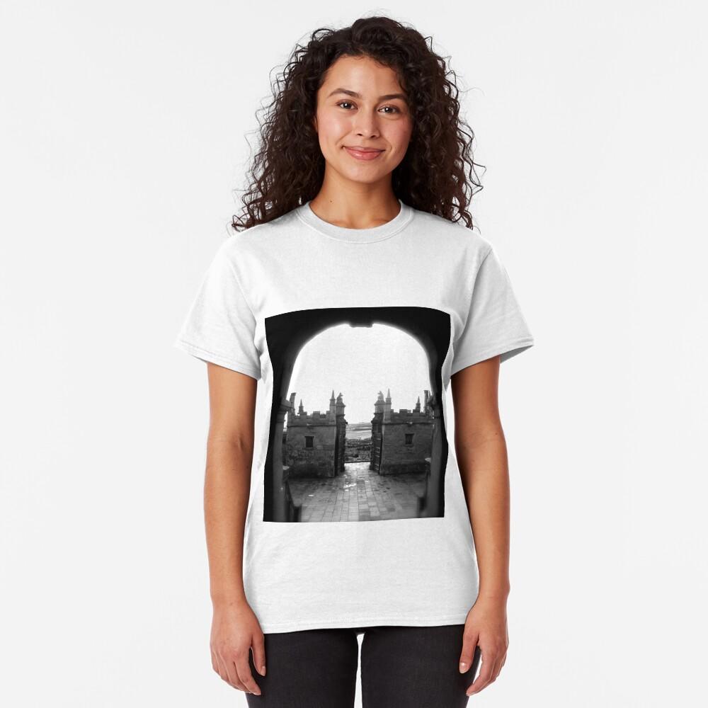 Little Castle entrance, Bolsover Classic T-Shirt