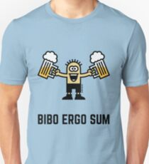 Bibo Ergo Sum (I drink therefore I am.) T-Shirt