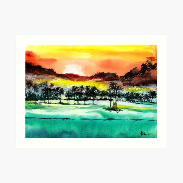 Good Evening 2 Art Print