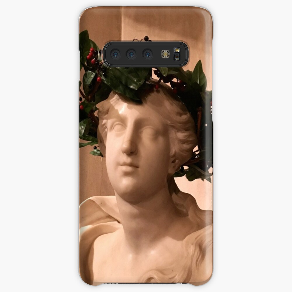 Christmas bust Case & Skin for Samsung Galaxy