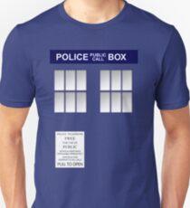Police Box New Blue T-Shirt