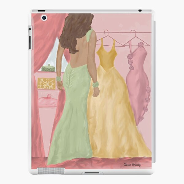 Which Dress By Loure Bussey iPad Snap Case