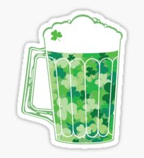 Clover Beer Sticker