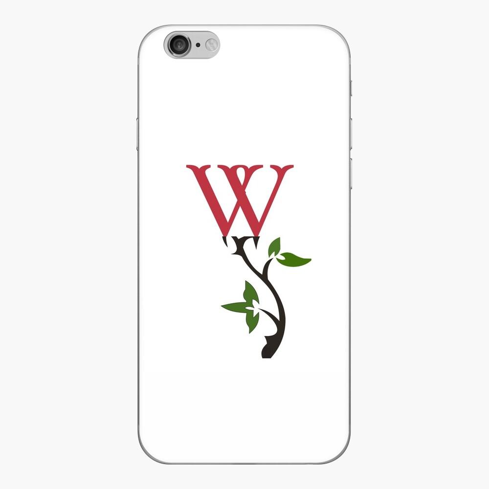 Wrongdoing Magazine Logo Collection iPhone Skin