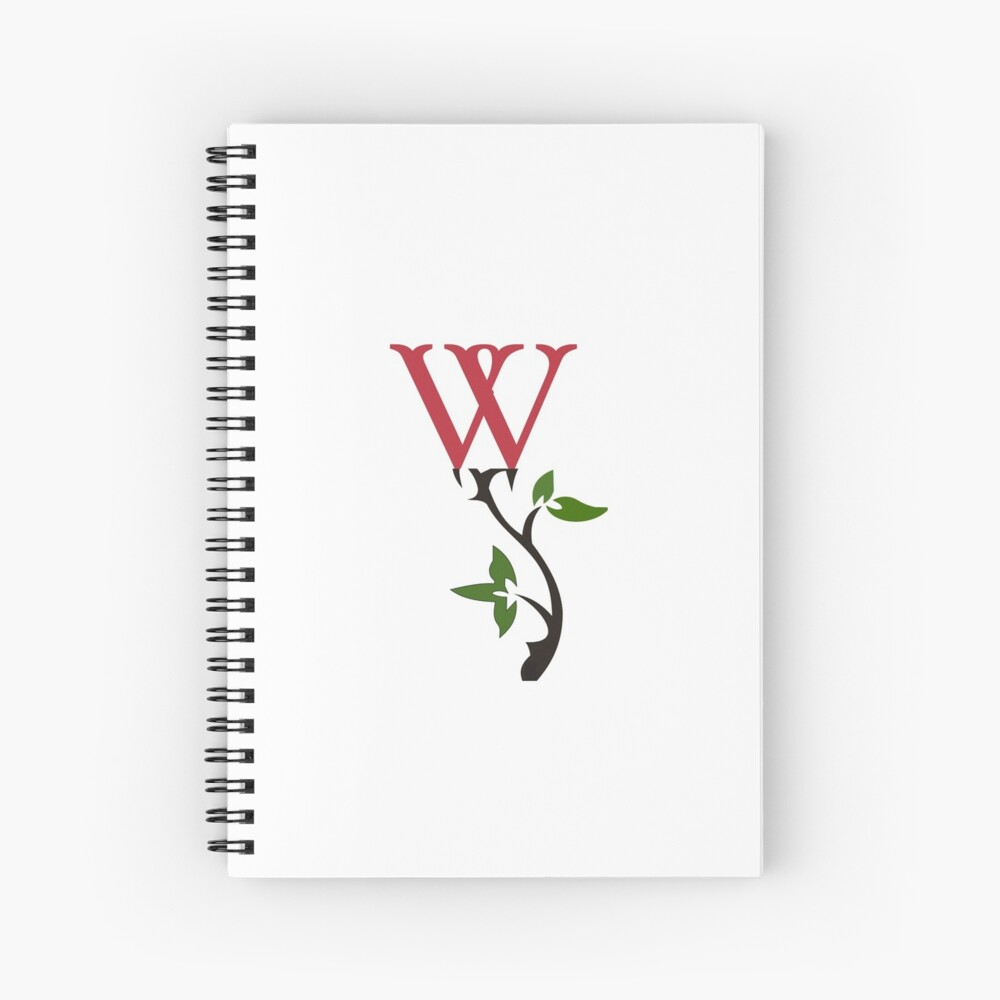 Wrongdoing Magazine Logo Collection Spiral Notebook