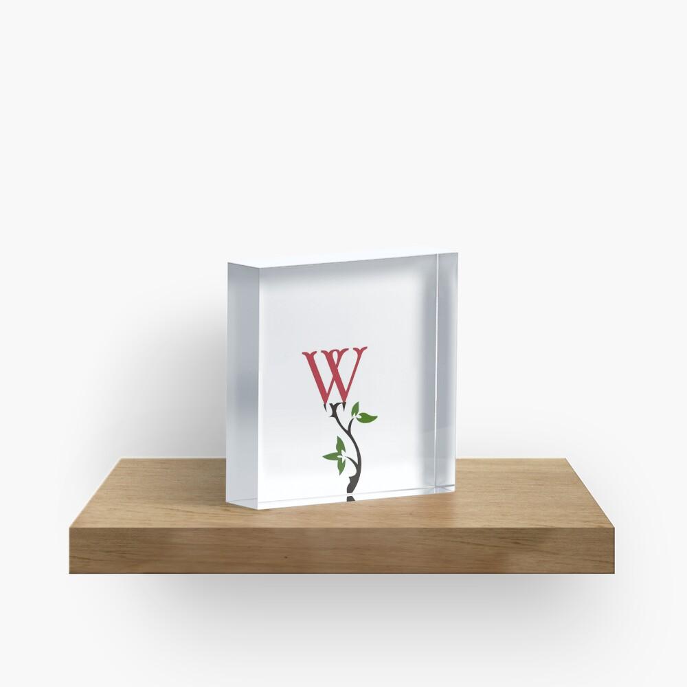 Wrongdoing Magazine Logo Collection Acrylic Block