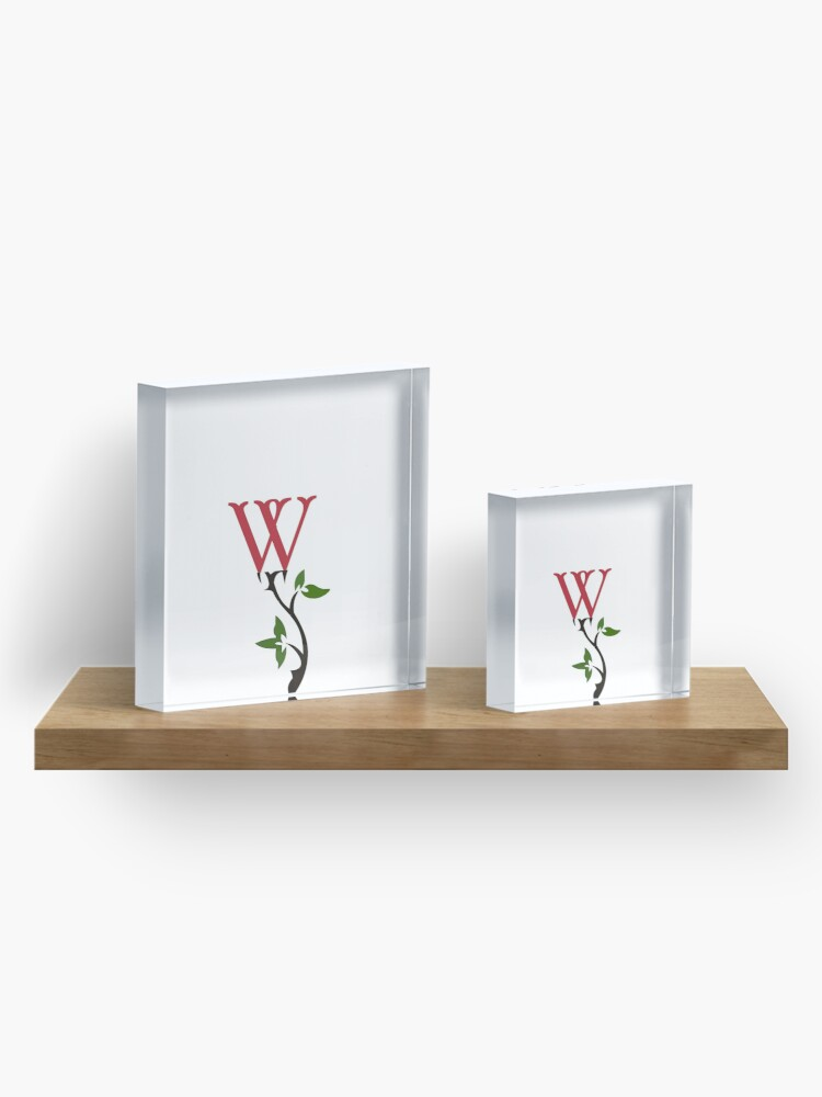 Alternate view of Wrongdoing Magazine Logo Collection Acrylic Block