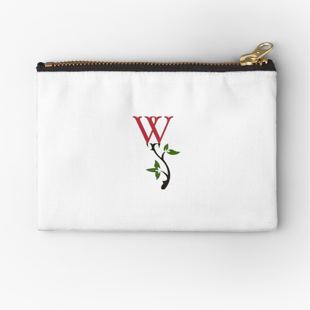 Wrongdoing Magazine Logo Collection Zipper Pouch