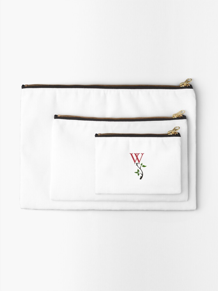 Alternate view of Wrongdoing Magazine Logo Collection Zipper Pouch