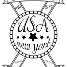 Classsic  American banner by usanewyork