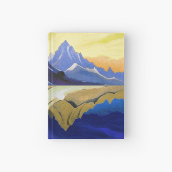 Fantasy on the Himalayas (Sonata overhead paint) Nicholas Roerich Painting Hardcover Journal