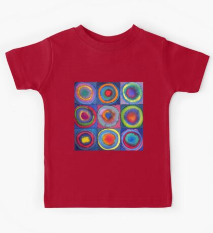 Circles - abstract watercolour by Francesca Whetnall Kids Clothes