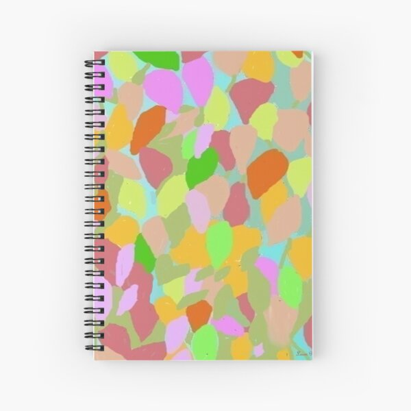 Candy Colors By Loure Bussey Spiral Notebook