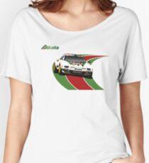 Alitalia Lancia Stratos  Women's Relaxed Fit T-Shirt