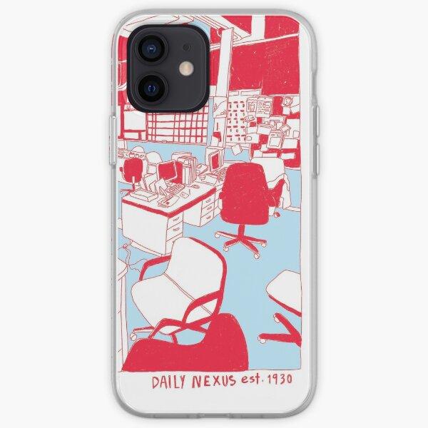 STAFF DESIGN 2019-2020 Red & Blue iPhone Soft Case