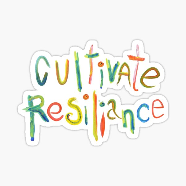 Brene brown: Cultivate Resilience Quote | Brene Brown Quotes - quotes on leadership,uplifting daily motivation quotes,motivational quotes for success in life  Sticker