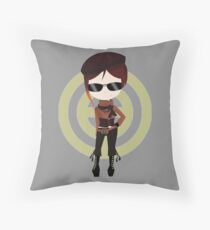 Chibi Coco from team CFVY Throw Pillow