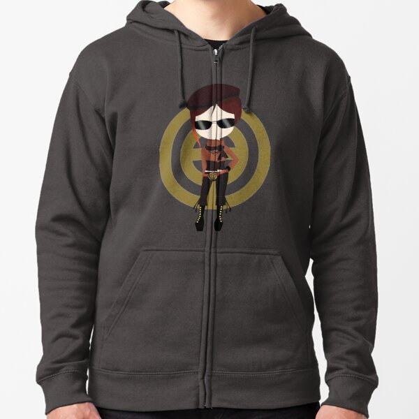 Chibi Coco from team CFVY Zipped Hoodie