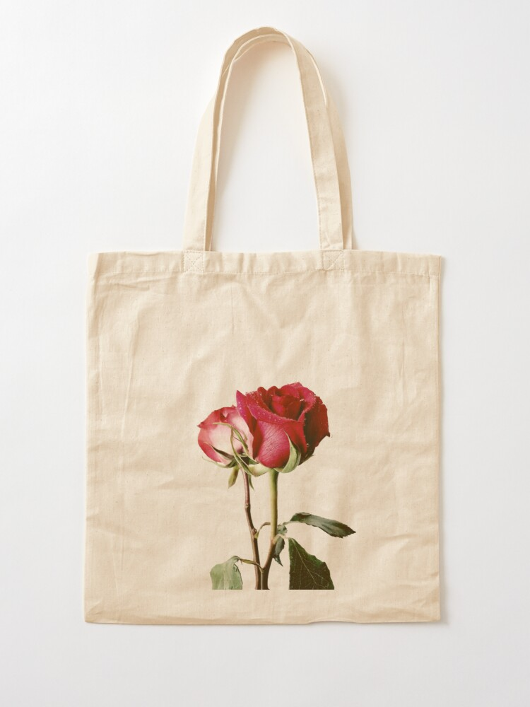 Alternate view of Wrongdoing Magazine Real Rose Collection Tote Bag