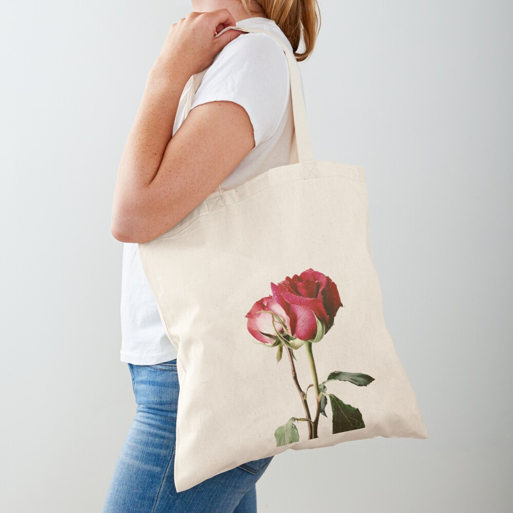 Wrongdoing Magazine Real Rose Collection Tote Bag