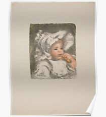 Auguste Renoir - Child with a Biscuit 1898 - 1899 Poster