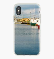 Fishing Boats at Feltzen South iPhone Case