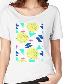 Throwback Abstract 1 T-shirt femme coupe relax