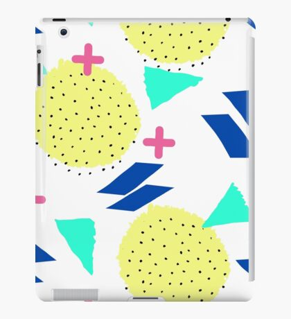 Throwback Abstract 1 iPad Case/Skin