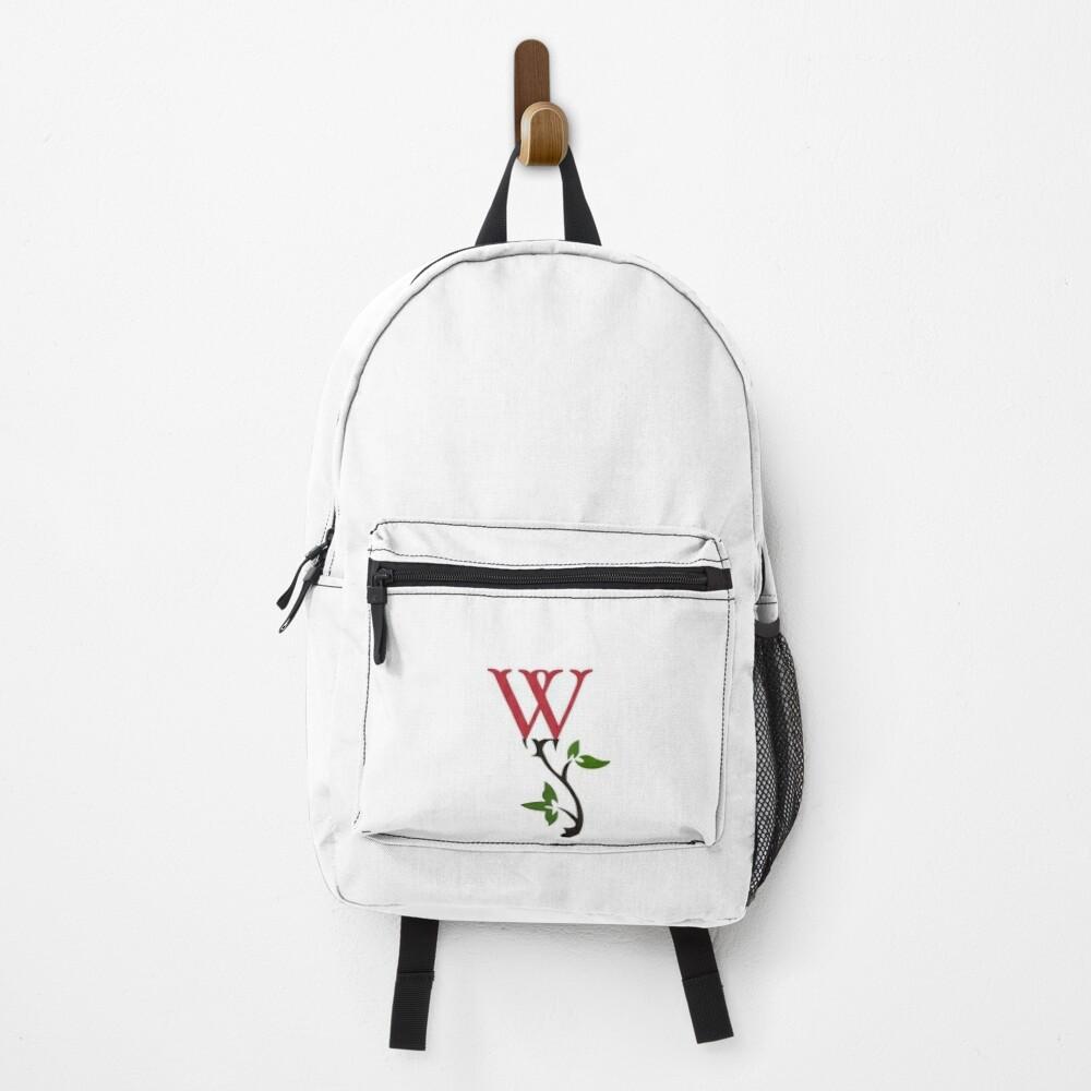 Wrongdoing Magazine Logo Collection Backpack