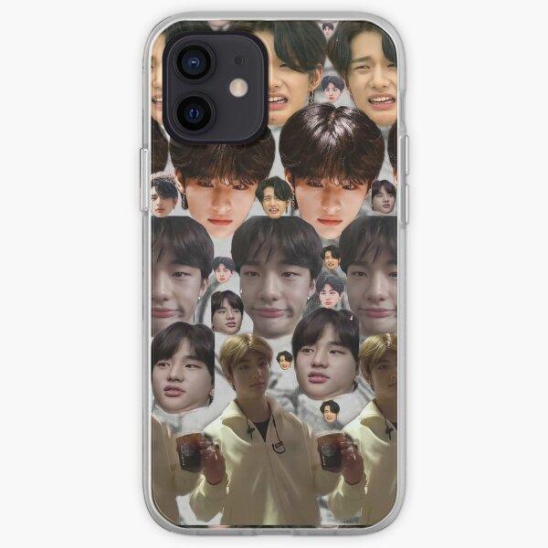 Meme de Hyunjin Stray Kids Funda blanda para iPhone